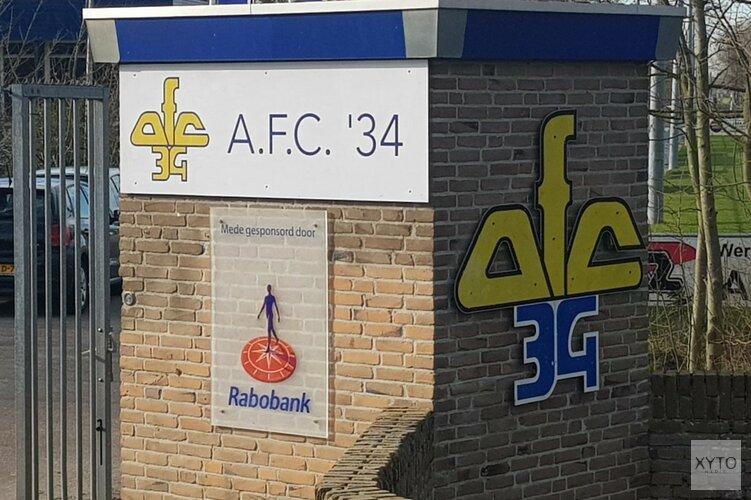 Ook Jordan de Jong keert terug bij AFC'34