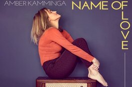 Amber Kamminga bij Pop-Eye/Velvet Music tijdens Record Store Day