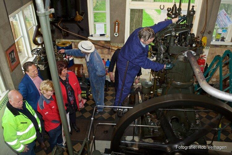 Sponsors redden deelname dieselgemaal aan Gemalendag 11 mei