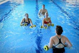 Word fit met Aquafit bij zwembad De Hout