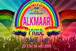 Tien jaar Alkmaar Pride; 'Celebrate pride!'