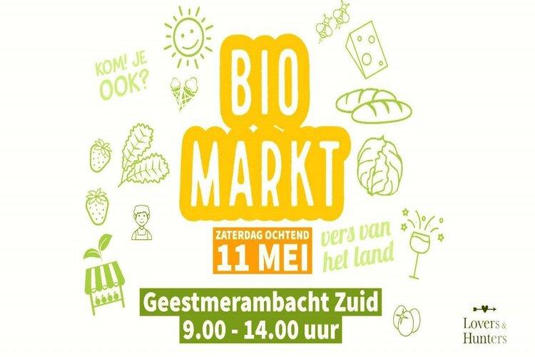 Biomarkt bij Lovers & Hunters Geestmerambacht