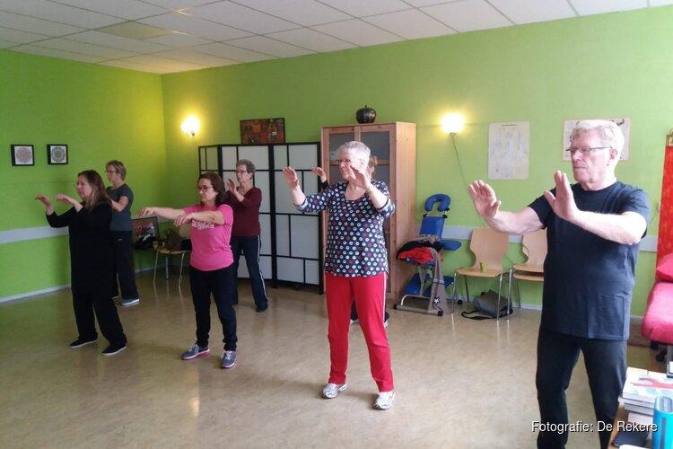 Workshop tai chi in De Rekere