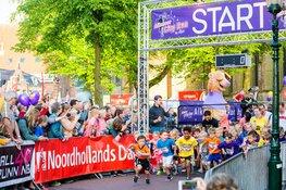 Al meer dan 500 kinderen doen mee aan de Rollebol Kids Run tijdens de Alkmaar City Run by night