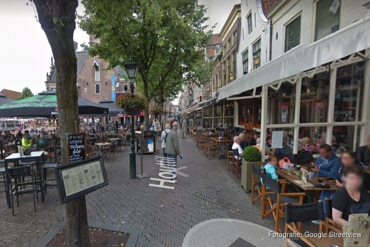 Weer mishandeling met glas in Alkmaars café