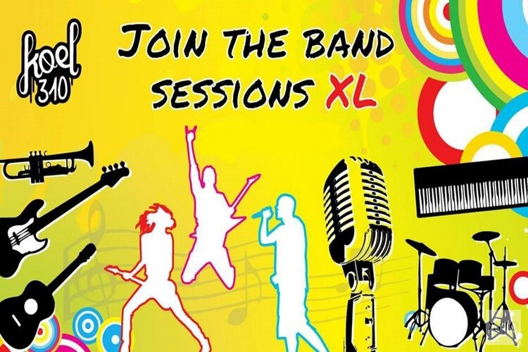 Vanavond Join The Band Sessions XL in Koel310
