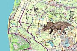 Afbeelding Triceratops domineert bij EK Figuurfietsen