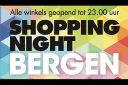 Eerste Shopping Night in Bergen vrijdag 24 Mei van start