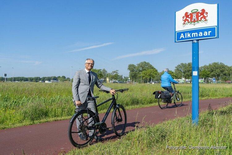 Het college maakt werk van Alkmaar fietst; Nieuwe route door Olympiapark