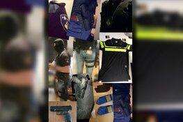 Politiefan opgepakt na delen foto's van wapens op social media