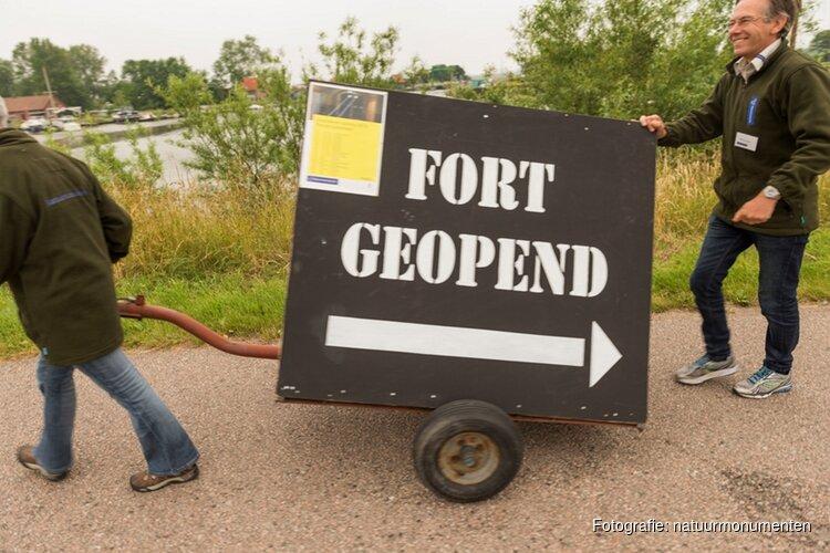 Fort bij Spijkerboor open op zomerzondagen