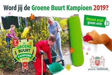 Start wedstrijd Groene Buurt Kampioen 2019