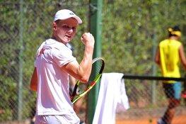 Tennis is alles voor Jesper de Jong
