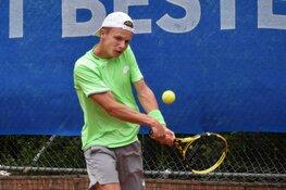Tweede ronde ITF World Tennis Tour eindstation voor Dax Donders