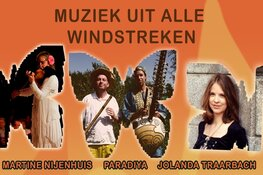 Festival wereldmuziek op zondag 28 juli