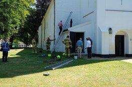 Brandje in Witte Kerk Heiloo