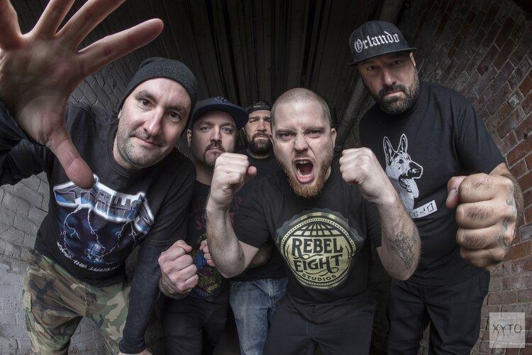 Amerikaanse hardcore heersers van Hatebreed op 16 augustus te zien bij Podium Victorie