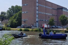 Politie Alkmaar zoekt mogelijke drenkeling, blijkt een behulpzame burger