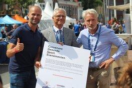 Gemeente Alkmaar tekent Convenant Gezonde Sportevenementen tijdens EK Wielrennen