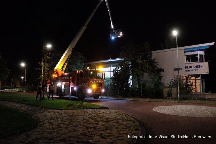 Schade door brand in leegstaand bedrijfspand Alkmaar