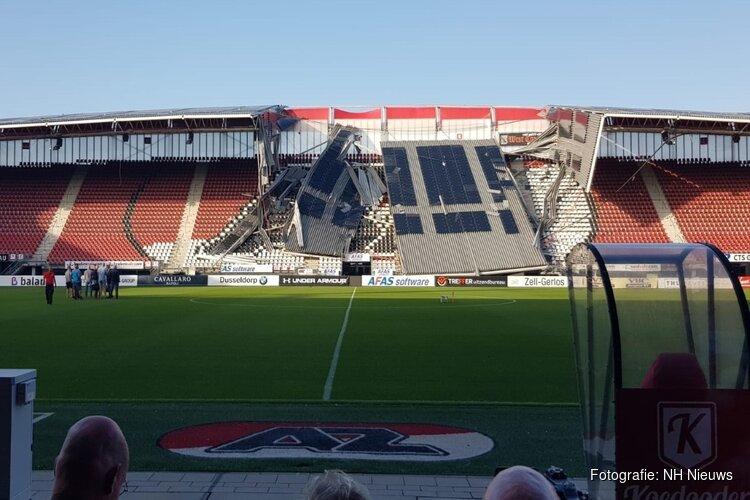 Onderzoeksraad geeft ingestort AZ-stadion vrij: volgende week beslissing