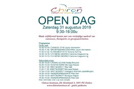 Open dag centrum Chiron Heiloo