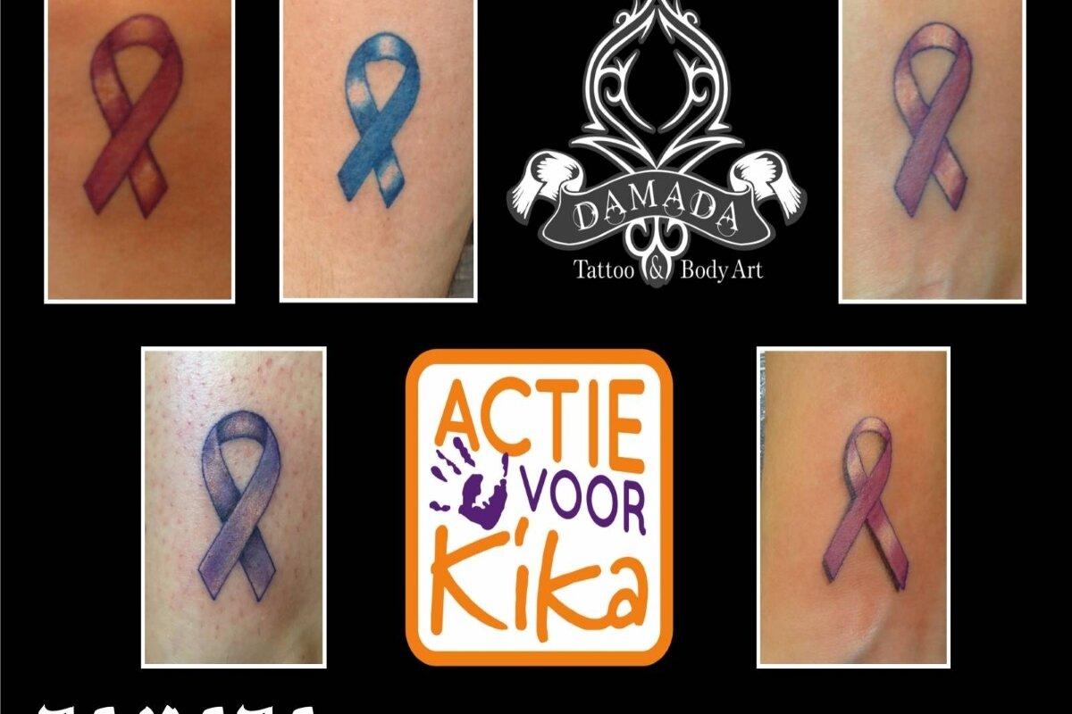 Verwonderend Damada tattoos voor Kika - Alkmaarsdagblad.nl XI-33
