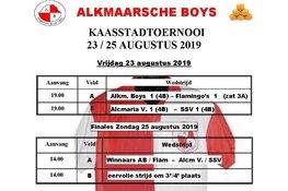 Kaasstad Toernooi vrijdag van start bij Alkmaarsche Boys