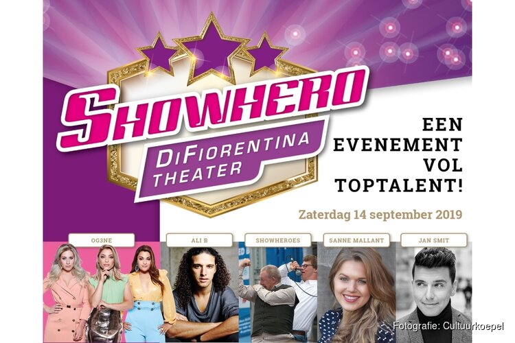 Showhero Di Fiorentina Theater op Zaterdag 14 september