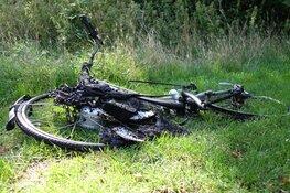 Elektrische fiets vliegt spontaan in brand in Heiloo