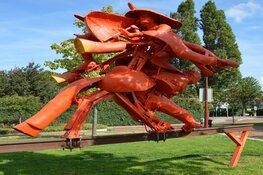 Fietstocht langs beeldende kunst in de openbare ruimte