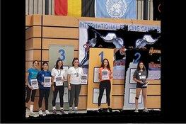Goud voor Ava Emanuel (14 jaar) HollandSchermen op internationaal schermtoernooi in Duitsland