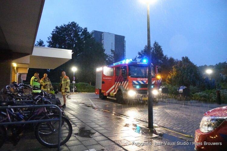 'Bliksem ingeslagen in flatgebouw Alkmaar'