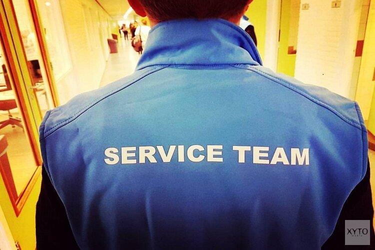Serviceteam  Clusius College Castricum weer paraat