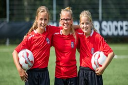 VV Alkmaar Girls Only Soccer Camp in herfstvakantie