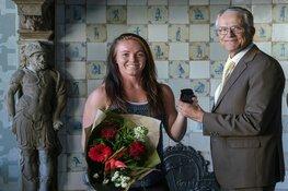 Melanie Driessen gehuldigd
