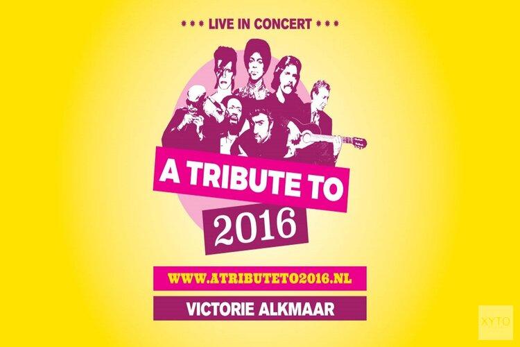 A Tribute To 2016 komt naar Podium Victorie op zaterdag 5 oktober