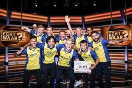 Alkmaarse Football Club '34 wint 6.251 euro in SBS6-programma 'Echt Waar?!'