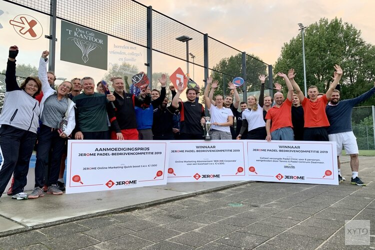 Biesboer Expertise wint JEROME padelcompetitie