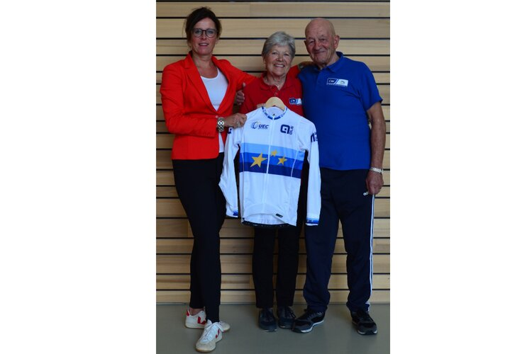 Officieel EK wielershirt voor gepassioneerde vrijwilliger