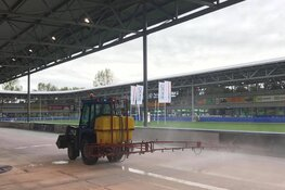 IJs van Alkmaarse schaatsbaan gesmolten door (te) warm oktoberweer