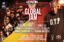 GlobalXJam brengt muziekculturen samen in historische Akhnaton