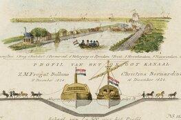 Lezing over het Groot Noordhollandsch Kanaal