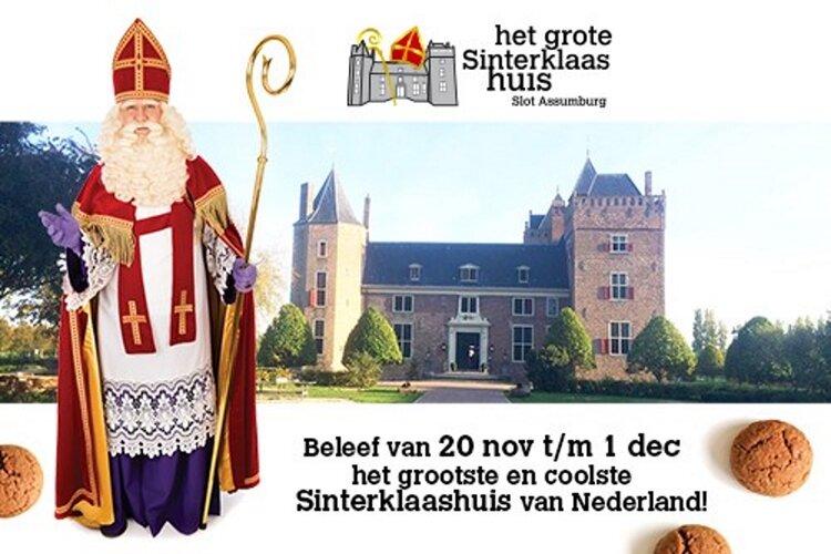 Dit jaar opent het grootste en coolste Sinterklaashuis van Nederland op 20 november