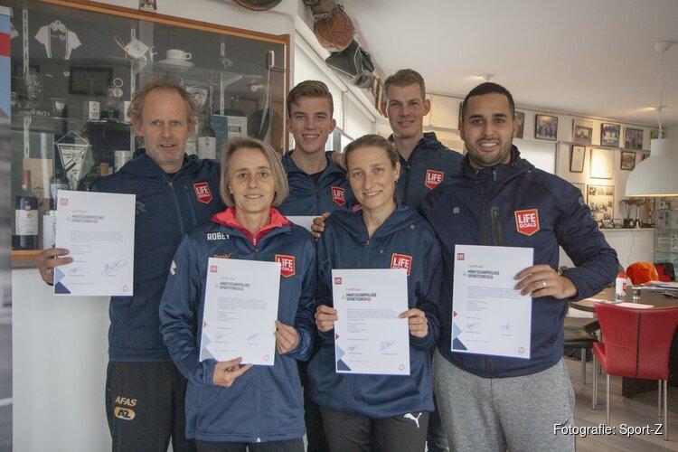 Nieuwe maatschappelijke sportcoaches opgeleid in Alkmaar