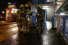 Brand in parkeergarage in Alkmaar