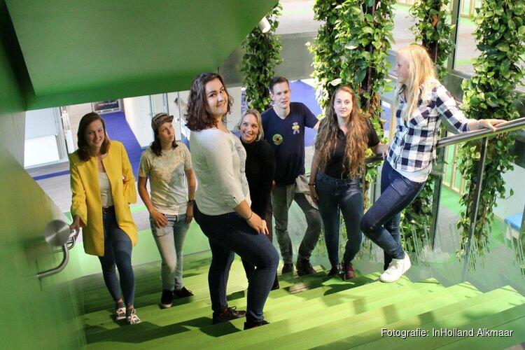Regiofinale robotwedstrijd FIRST® LEGO® League bij Hogeschool Inholland Alkmaar