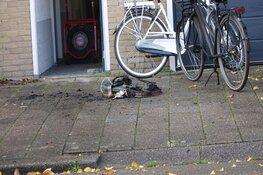 Brand in berging in Alkmaar