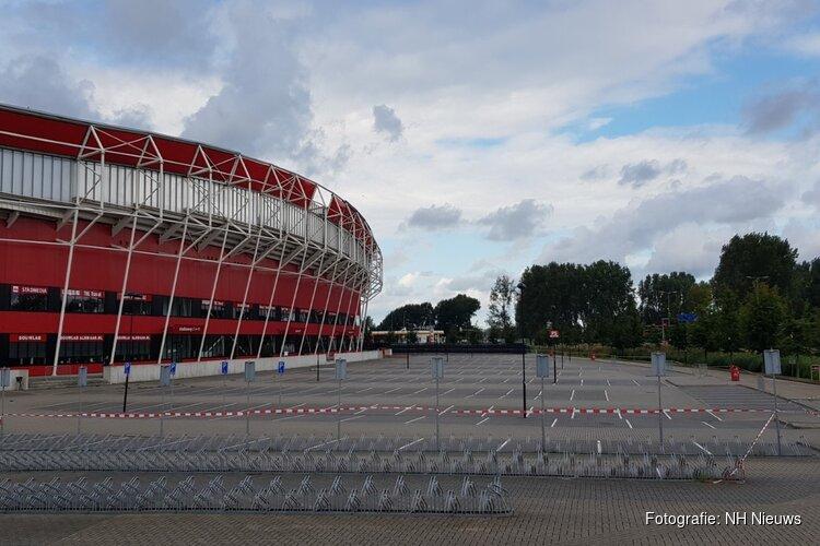 Demontage van dak AZ-stadion afgerond