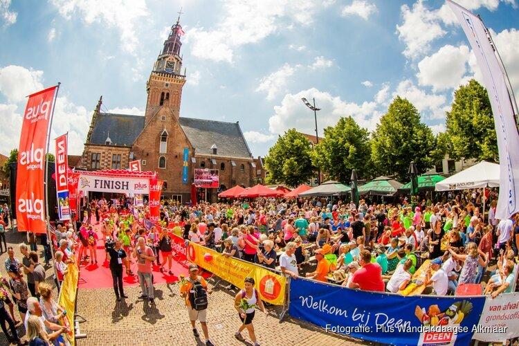 Inschrijving 14e Plus Wandel4daagse Alkmaar is geopend